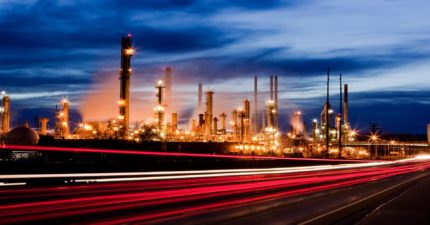 Oil refinery - full of electron beam welded components