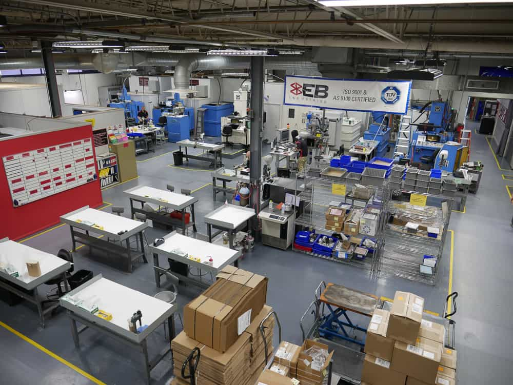 EB Industries Shop Area